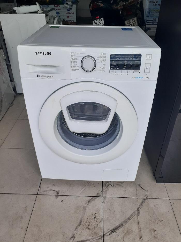 Máy giặt samsung inverter 7.5 kg new 99%