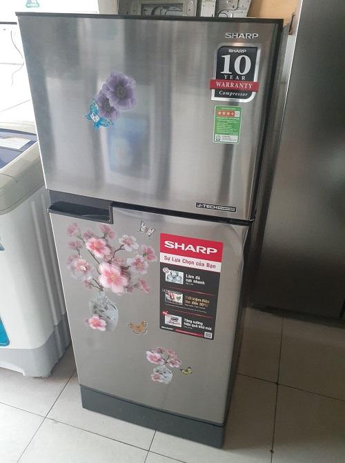 Tủ lạnh sharp inverter 165 lít