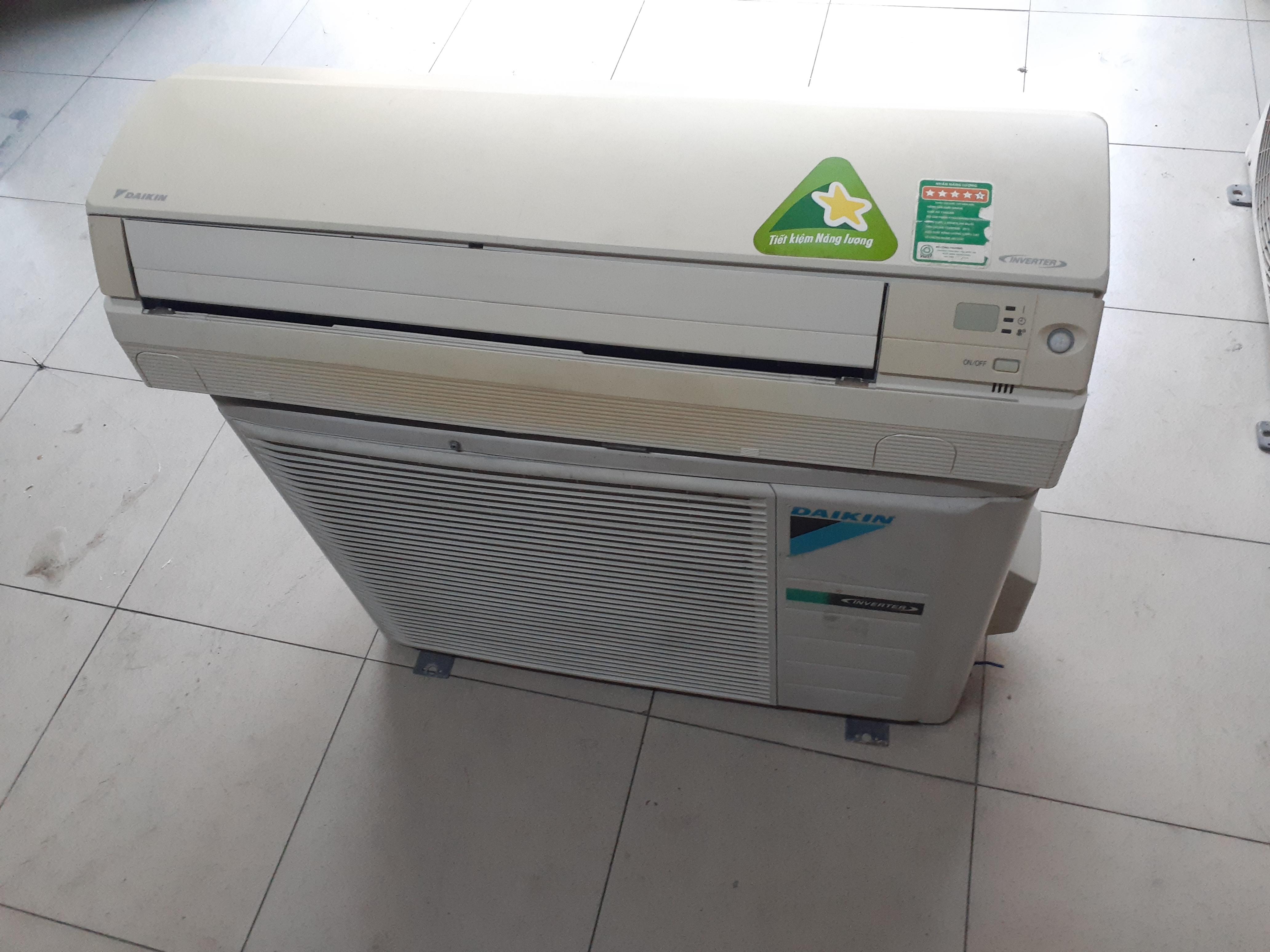Máy lạnh cũ daikin inverter 1 ngựa
