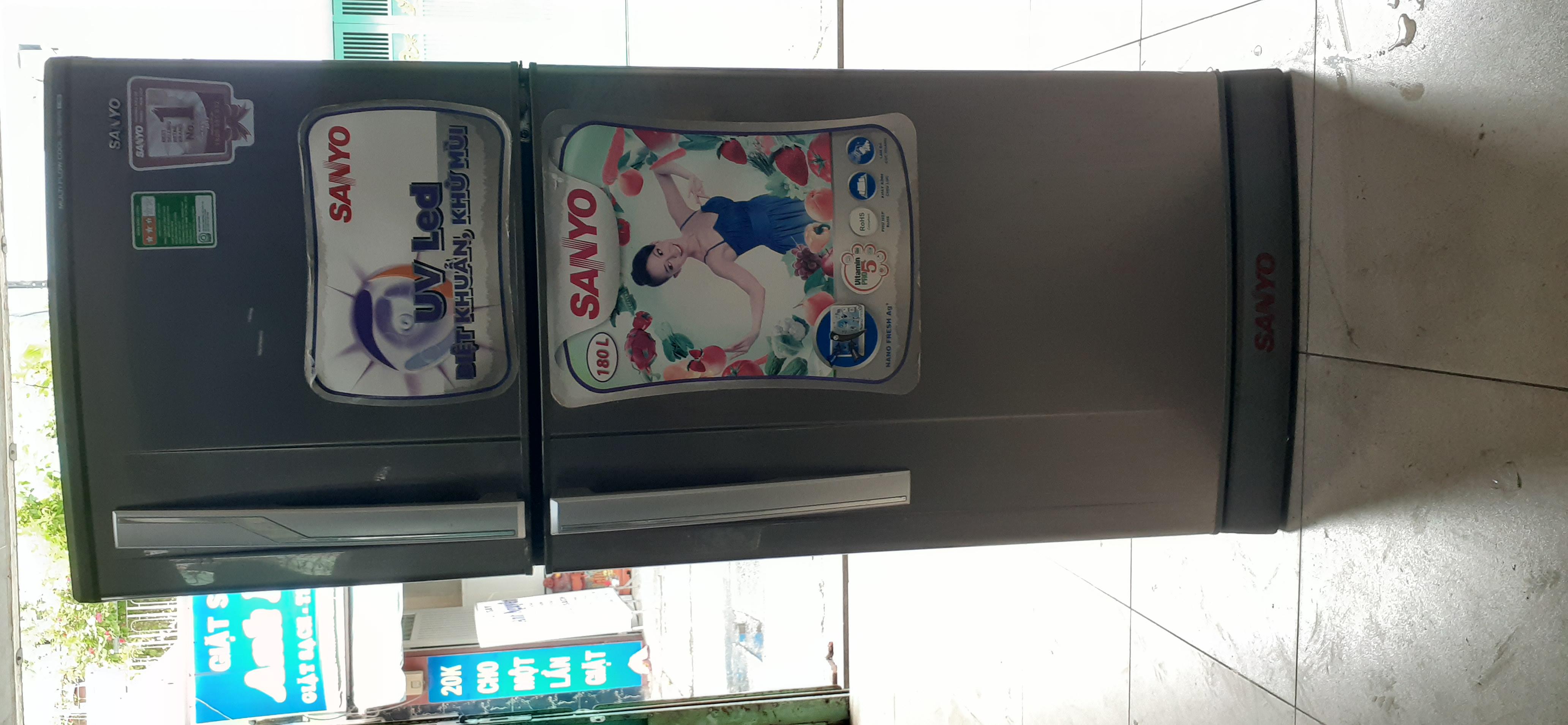 Tủ lạnh sanyo 165 lít