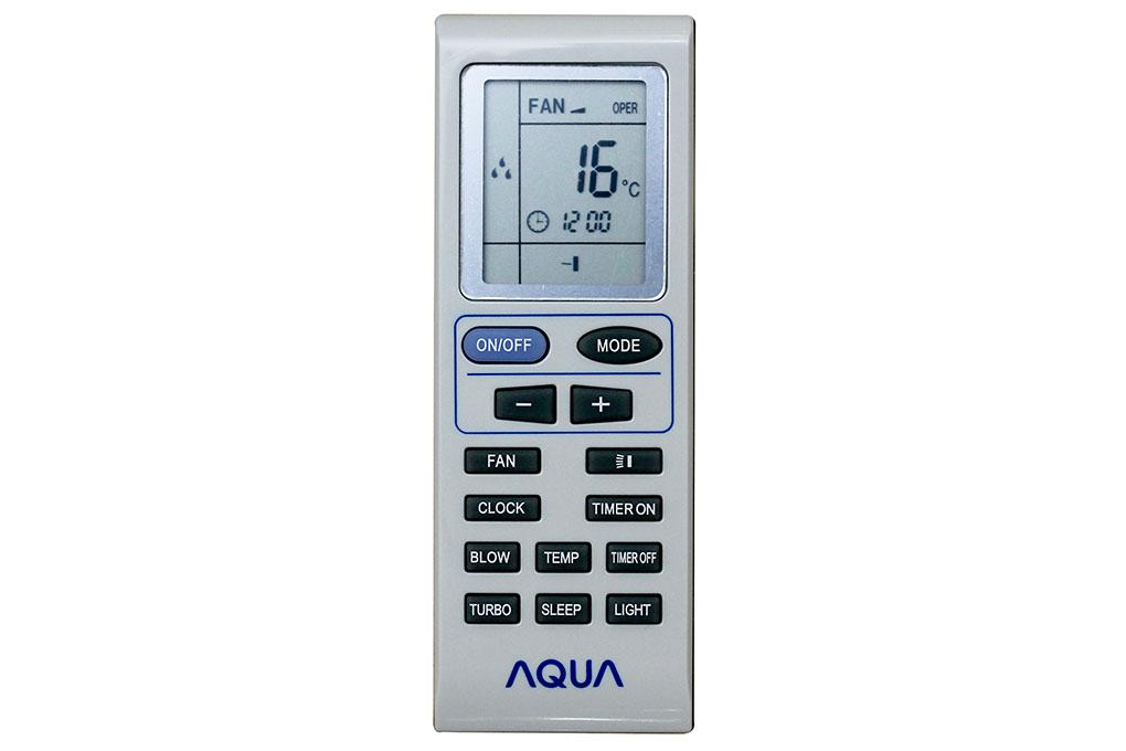 Bán điều khiển máy lạnh Aqua hcm
