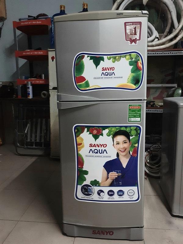 Tủ lạnh cũ sanyo 145 lít