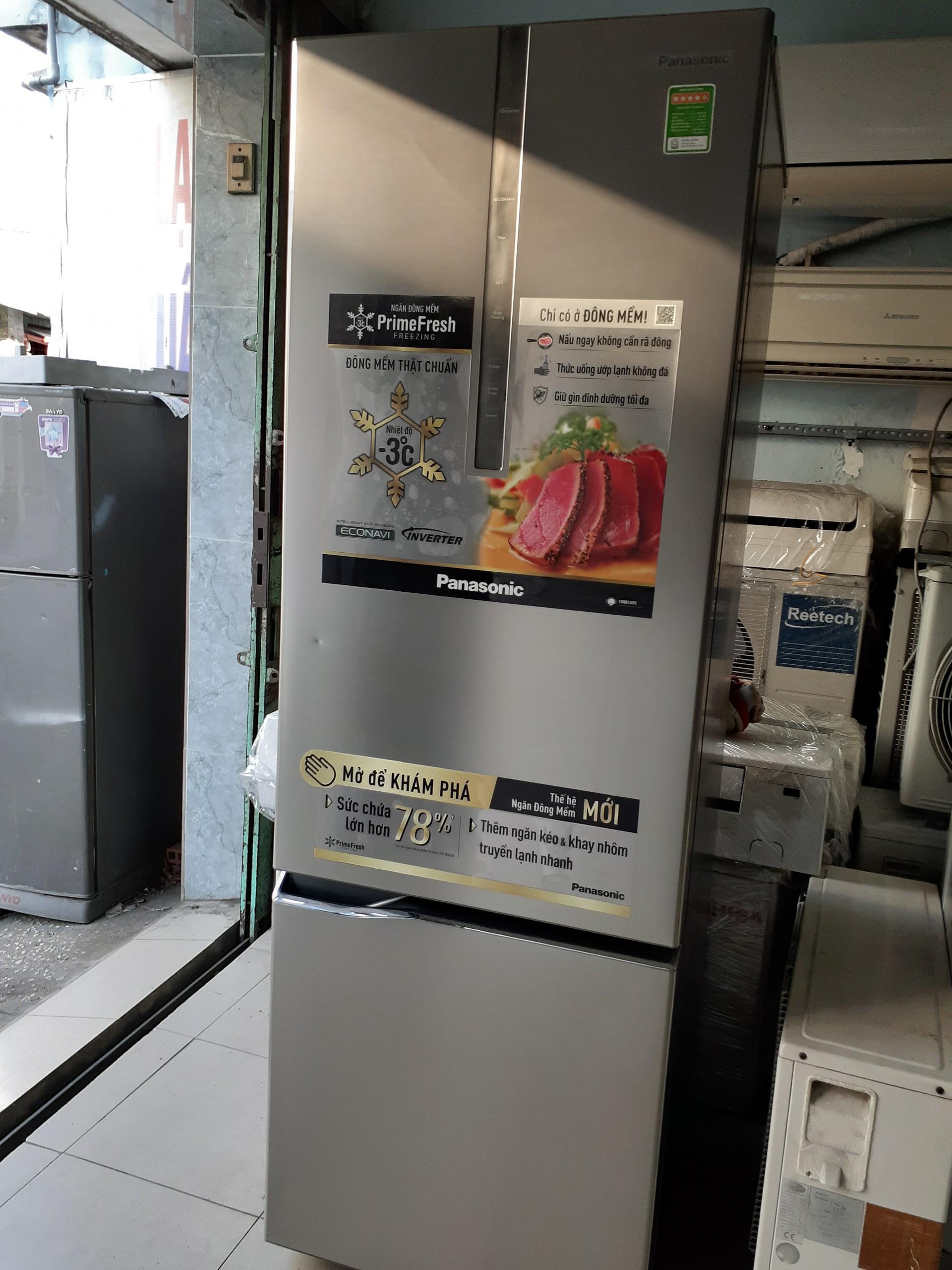 Tủ lạnh cũ panasonic inverter 320l