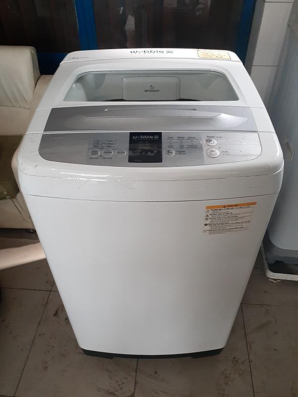 Máy giặt cũ samsung 7.8kg new 90%