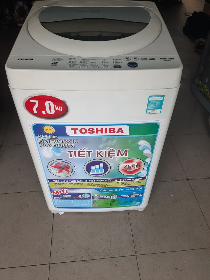 Máy giặt cũ Toshiba7kg