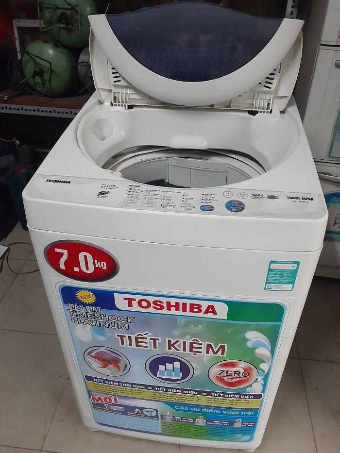 Máy giặt cũ toshiba 7kg a800sv