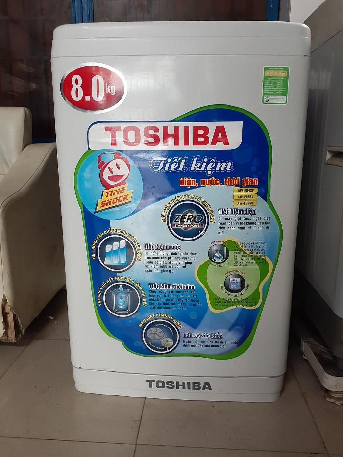Máy giặt cũ Toshiba 8kg ...Giá 2tr000k