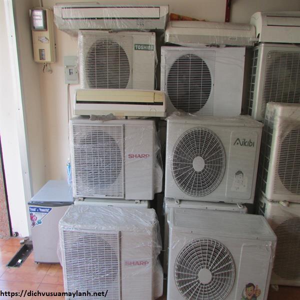 Thu mua máy lạnh cũ quận Tân Phú