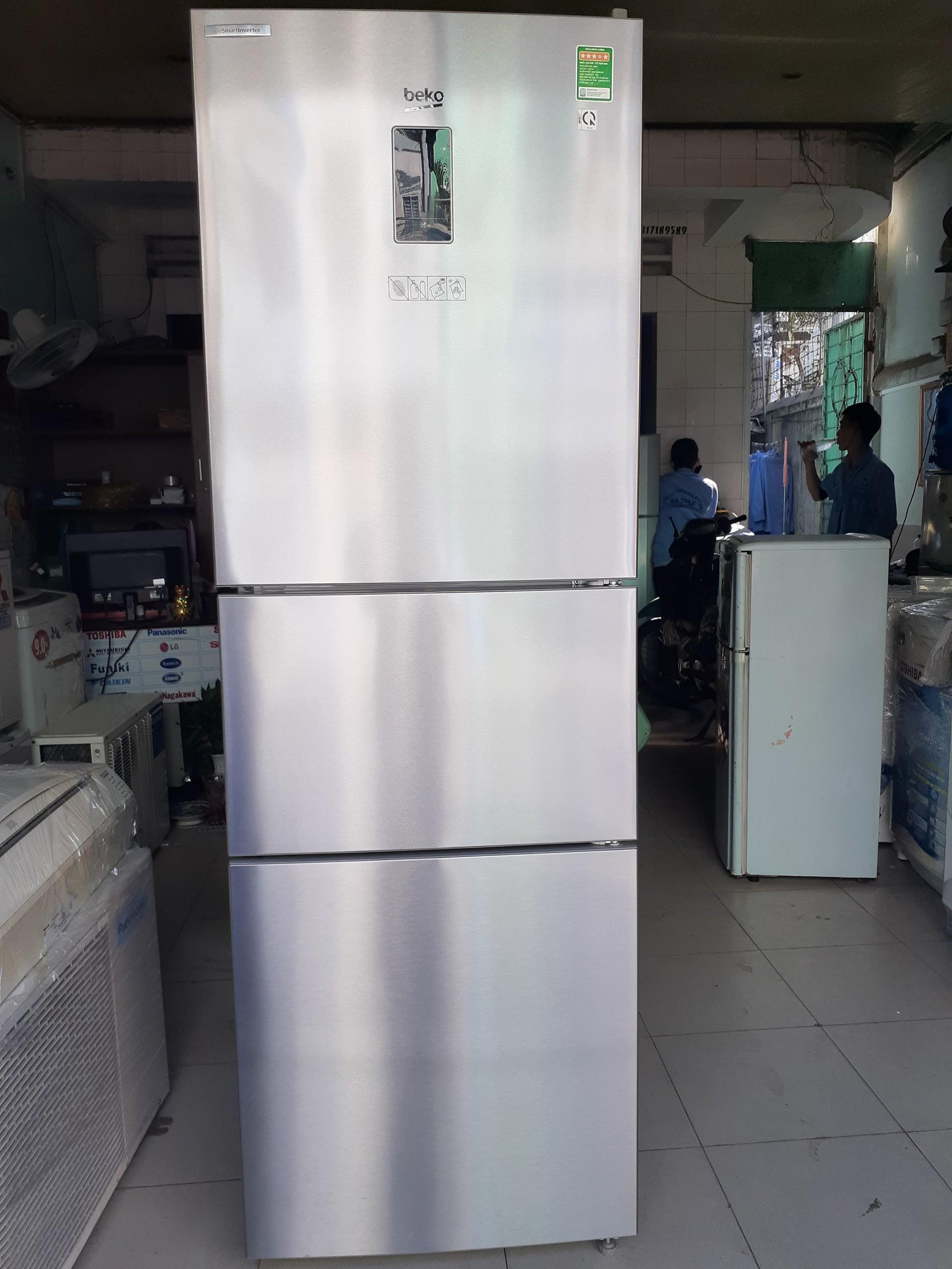 Tủ lạnh cũ Beko 340L