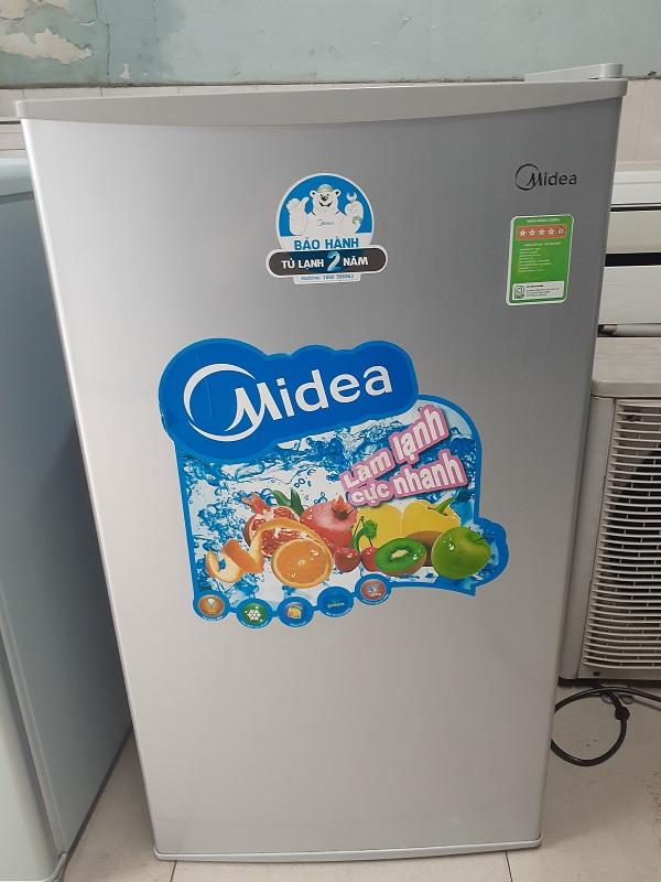 Tủ lạnh 90 lít midea new 95%...giá 1tr450k
