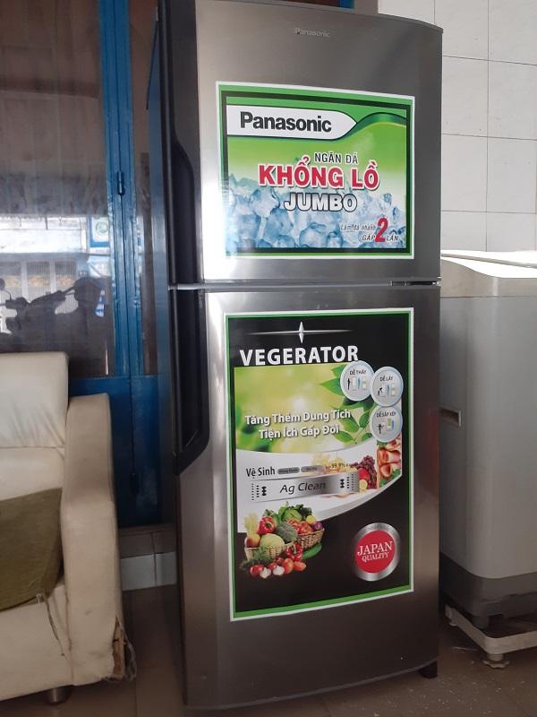 Tủ lạnh cũ panasonic 260 lít new 90%