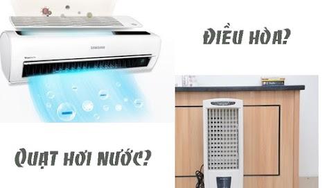 Tư Vấn Mua máy lạnh hay quạt phun sương